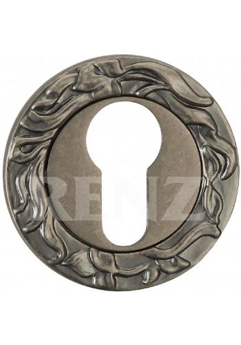 Накладка на цилиндр Renz ET 20 Серебро античное