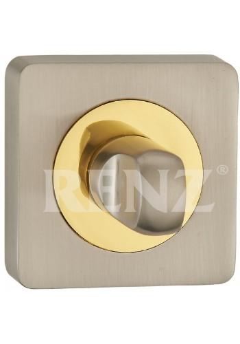 Завертка Renz BK 02 Никель матовый латунь блестящая
