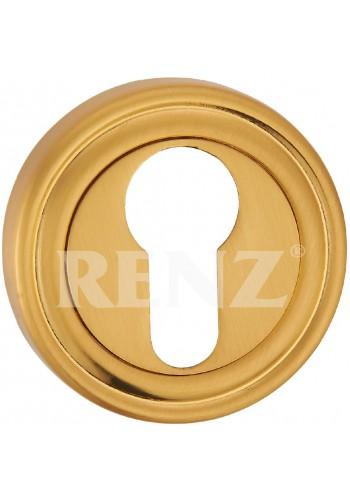 Накладка на цилиндр Renz ET 16 Латунь матовая