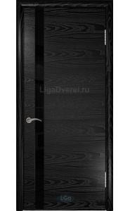 Дверь Лига Гранд 1 Черный ясень ДО