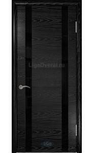 Дверь Лига Гранд 2 Черный ясень ДО