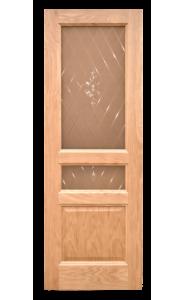 Дверь Дворецкий Готика Натуральный дуб ДО