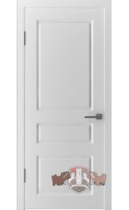 Дверь ВФД Честер 15ДГ0 Белая эмаль