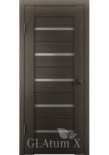 Дверь ВФД Атум Х7 Серый дуб сатинат