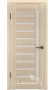 Дверь ВФД Атум Х11 Капучино сатинат