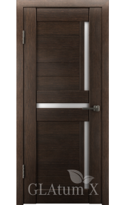 Дверь ВФД Атум Х16 Венге сатинат