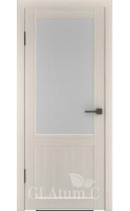 Дверь ВФД Атум С2 Беленый дуб сатинат