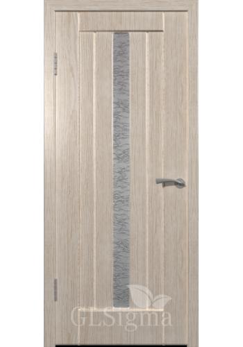 Дверь ВФД Сигма 22 Беленый дуб ДО