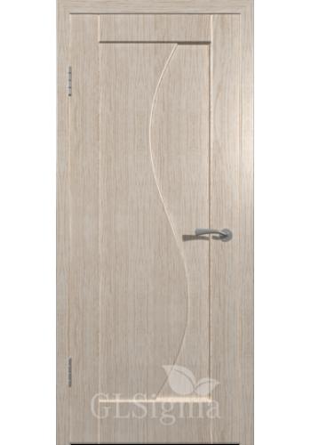 Дверь ВФД Сигма 51 Беленый дуб ДГ
