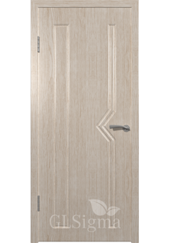 Дверь ВФД Сигма 61 Беленый дуб ДГ