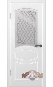 Дверь ВФД Родена 23ДР0 Белая эмаль