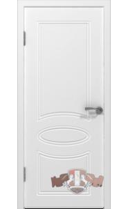Дверь ВФД Олимп 21ДГ0 Белая эмаль