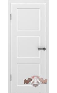 Дверь ВФД Трио 19ДГ0 Белая эмаль