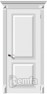Дверь Дэмфа Блюз Белый ДГ