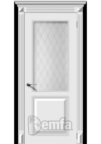 Дверь Дэмфа Блюз Белый ДО