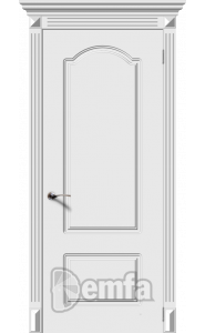 Дверь Дэмфа Классика Белый ДГ