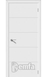 Дверь Дэмфа Квартет Белый ДГ