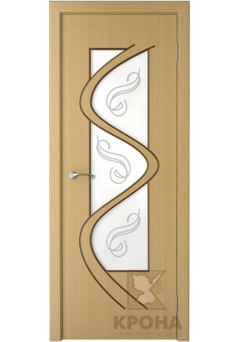 Вега Дуб стекло матовое с рисунком