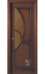 Дверь Крона Верона Макоре стекло дельта-бронза