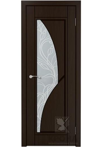 Сирена Венге стекло матовое с рисунком