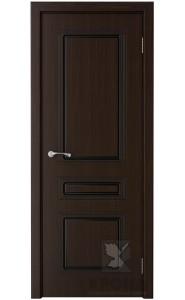 Дверь Крона Стиль Темный шоколад ДГ