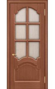 Дверь Покрова Виктория Тон №3 стекло сильвит бронза