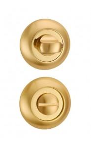 Дверная завертка Punto BK6 TL SG/GP-4 матовое золото - золото