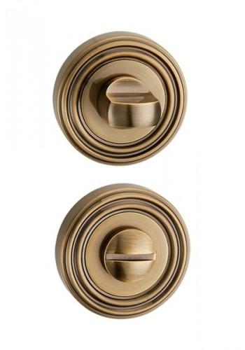 Дверная завертка Punto BK6 ML ABG-6 зеленая бронза