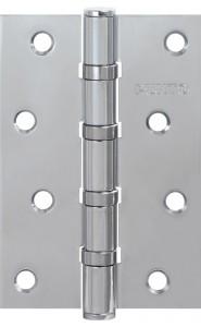 Петля универсальная Punto 4B CP 100*70*2.5 хром