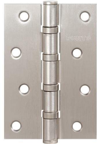 Петля универсальная Punto 4B PN 100*70*2.5 перламутровый никель