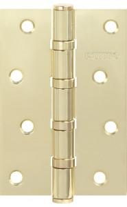 Петля универсальная Punto 4B SB 100*70*2.5 матовое золото