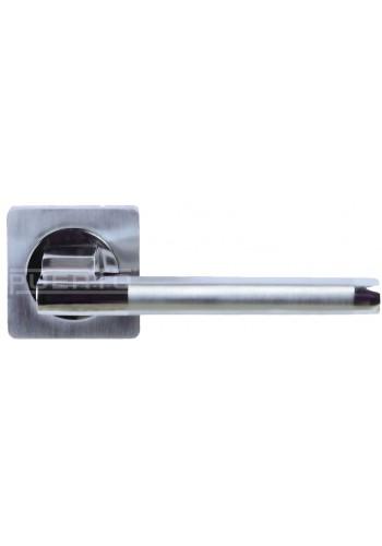 Ручка дверная Puerto AL 514-02 никель матовый/никель блестящий