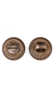 Завертка к ручкам Puerto BK AL 17 бронза античная матовая