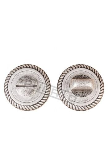 Завертка к ручкам Puerto BK AL 17 серебро античное