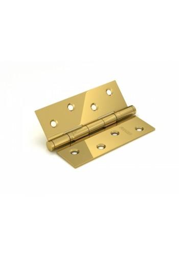 Петля универсальная без врезки Fuaro 300-2BB 100x2,5 SB матовое золото