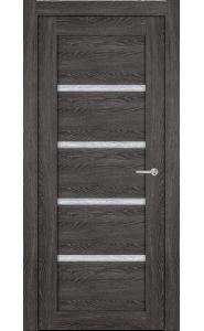 Дверь Статус 121 Дуб патина стекло Канны