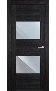 221 Дуб черный стекло Зеркало