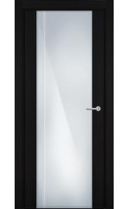 331 Пепельный венге стекло с Вертикальной гравировкой