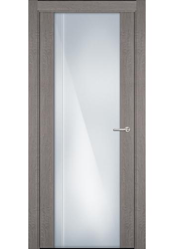 331 Дуб серый стекло с Вертикальной гравировкой
