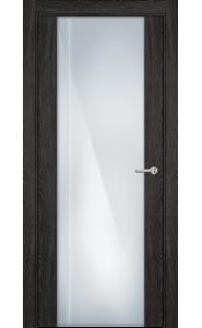 331 Дуб патина стекло с Вертикальной гравировкой
