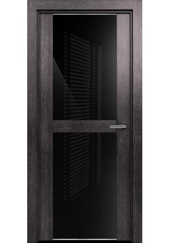 422 Пепельный венге стекло Лакобель черное