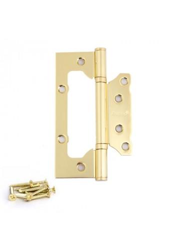 Петля накладная Avers 100*75*2,5-B2 Золото