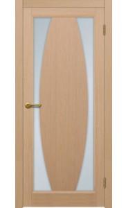 Дверь Матадор Атик 3 Беленый дуб Стекло светлое