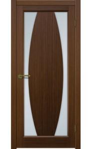 Дверь Матадор Атик 3 Орех люкс Стекло светлое