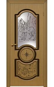 Дверь Матадор Волк Орех ДО