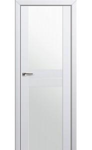 Дверь Профиль Дорс 10U Аляска Стекло Белый Триплекс