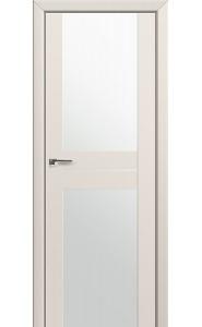 Дверь Профиль Дорс 10U Магнолия Сатинат Стекло Белый Триплекс