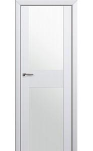 Дверь Профиль Дорс 11U Аляска Стекло Белый Триплекс