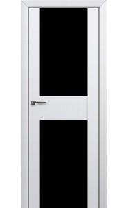 Дверь Профиль Дорс 11U Аляска Стекло Черный Триплекс