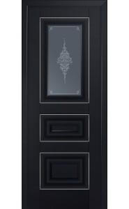 26U Черный матовый Стекло Кристалл Графит Серебро